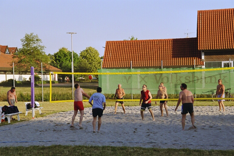 Bild OpenAir-Volleyball